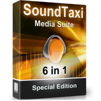 S[ondTaxi Media Suite box